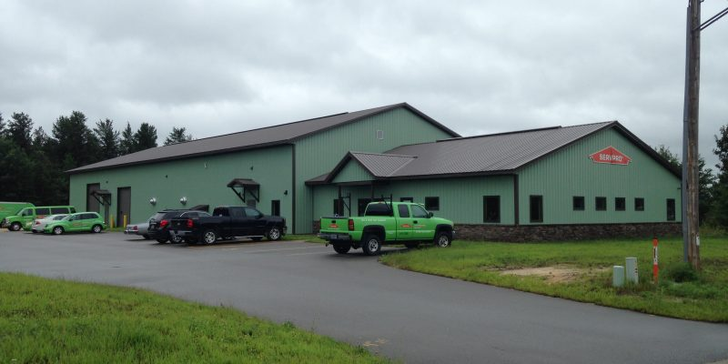 Servpro Construction by Americon Construction Company in Tomah, Sparta, WI